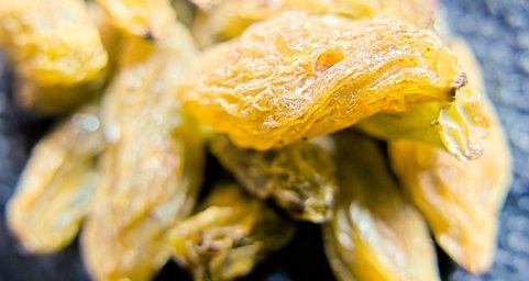 食,成熟的葡萄干 Raisin