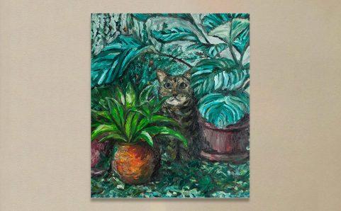 Indoor Cat Garden.