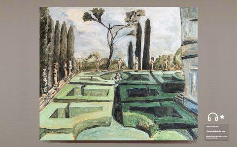 The Villa Farnese.