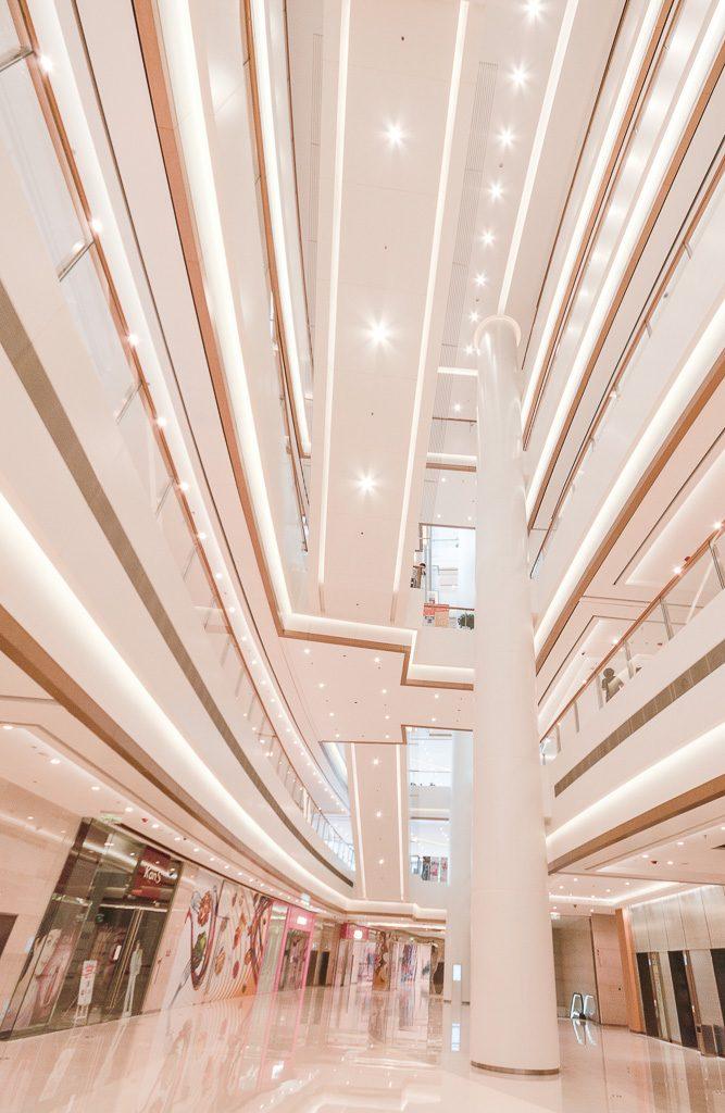 28大连恒隆广场-柱体装饰