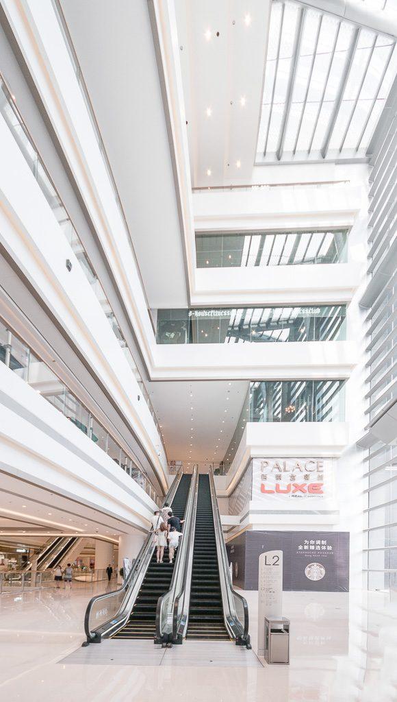 33大连恒隆广场-二层挑空中庭