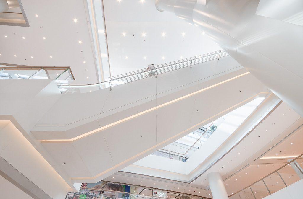 5大连恒隆广场-自动扶梯立面图特写