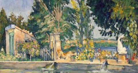 雅德布丰庄园的水池