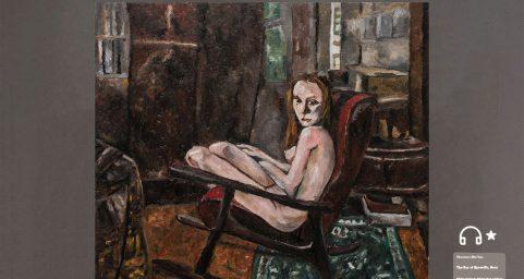 Venus in rocking chair.