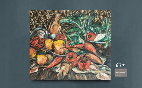 Still Life with Tomatoes and Carrots.