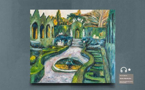 re Gardens of Aranjuez.