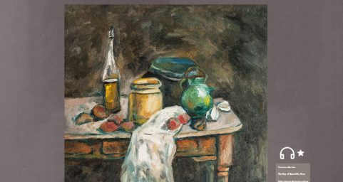 Still Life with Oil Bottle.