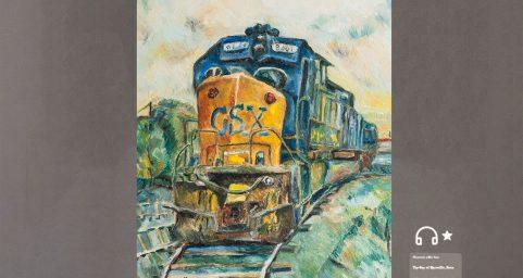 CSX Train.