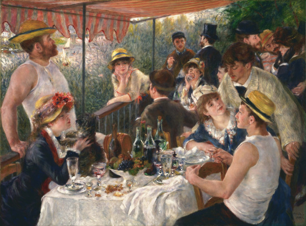 Pierre-Auguste Renoir, Luncheon of the Boating Party, 1880-1881, The Philips Collection, Washington