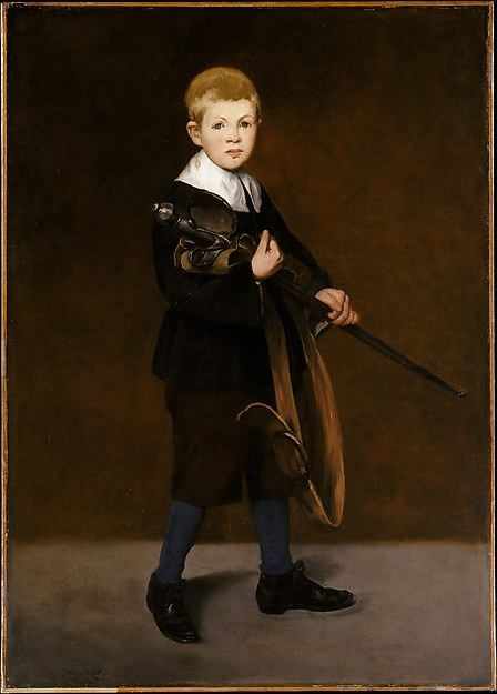 Édouard Manet, Boy with a Sword, 1861, The Metropolitan Museum of Art, New York