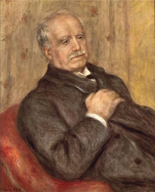 Pierre August Renoir, Paul Durand-Ruel, 1910, Private Collection