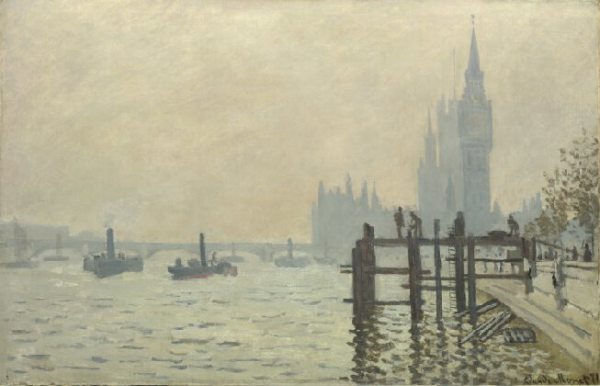 Claude Monet, The Thames below Westminster, The National Gallery, London