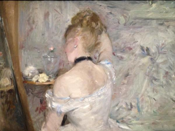 Berthe Morisot, Femme à sa toile, 1879-1880, The Art Institute of Chicago, Chicago