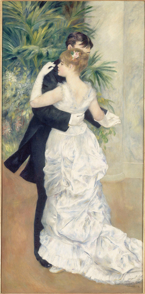 Pierre-Auguste Renoir, City Dance, 1883, Museum of Orsay, Paris