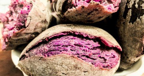 purple sweet potato.紫薯