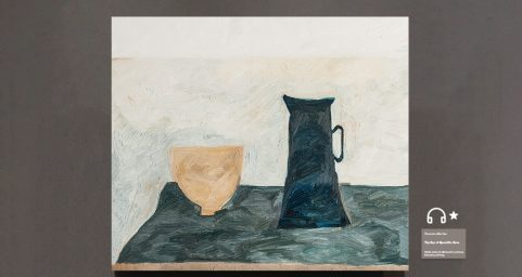 cup and milk jug.