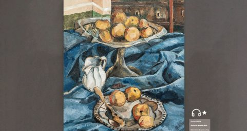 Still Life with Apples and a Milk Pot.
