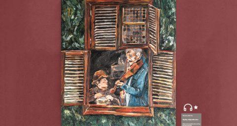 grandpa's violin.