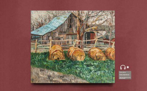 haystacks,stables.