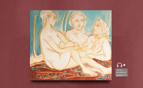 e Three Female Nudes.