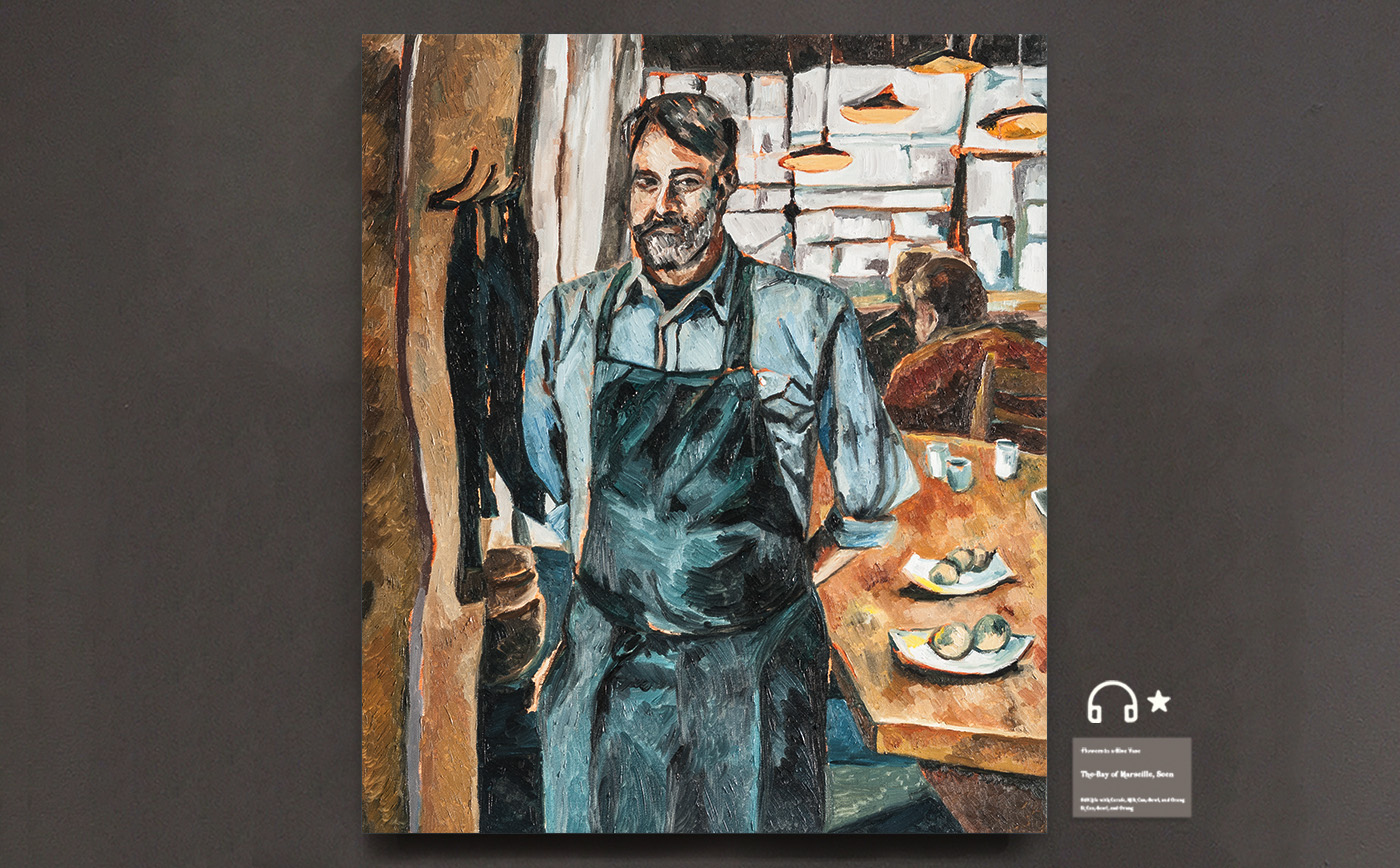 Fantastic Chef.了不起的厨师 布面油画