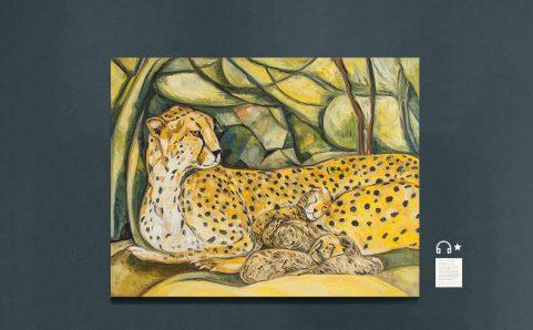 Lounging Leopard O2.
