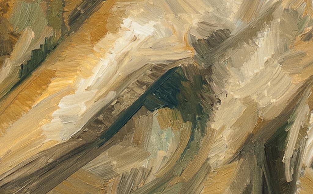 The Whippet.惠比特犬 布面油画