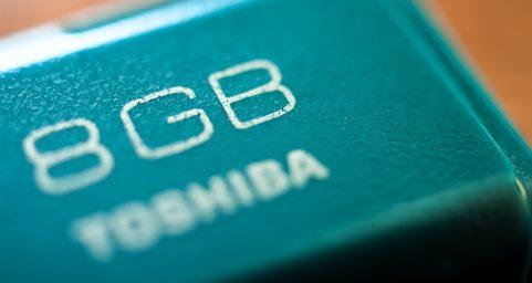TOSHIBA USB Disk.东芝U盘