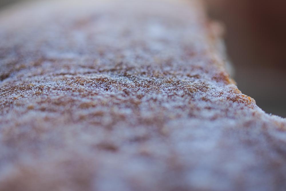 brown sugar-sesame seed cake 红糖烧饼