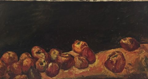 Apples. by Chaim Soutine