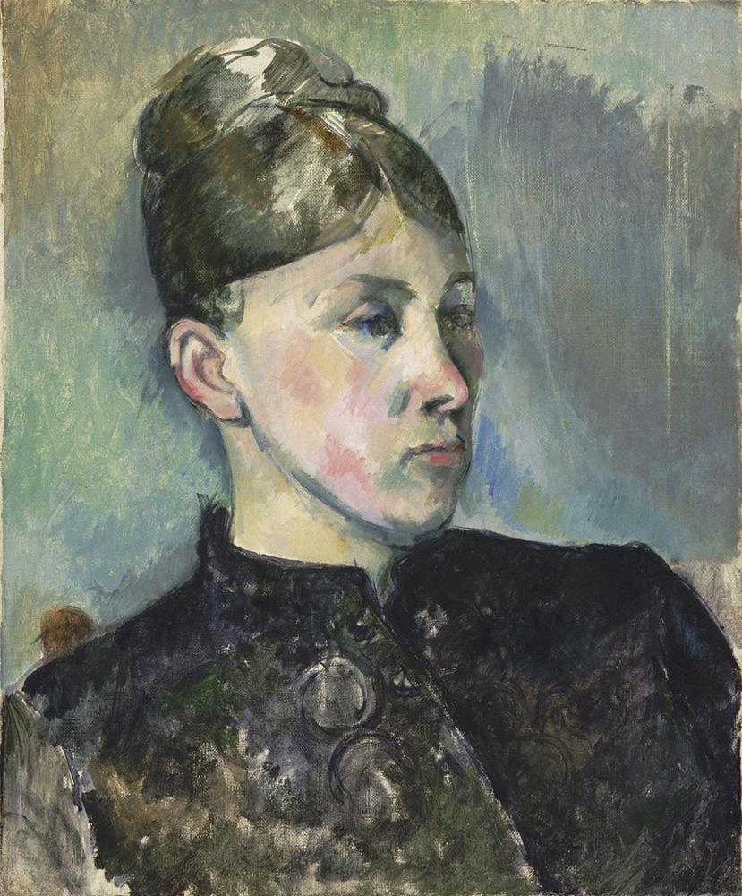 Madame Cézanne. 塞尚夫人