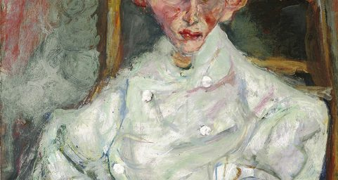 Pastry Cook of Cagnes. by Chaïm Soutine