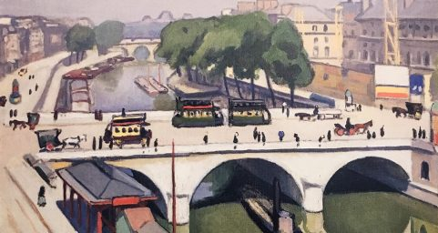 Saint-Michel Bridge, Paris by Albert MARQUET