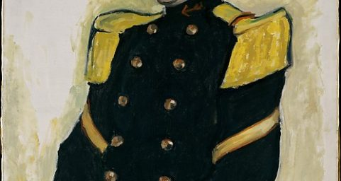Sergeant of the Colonial Regiment. by Albert Marquet
