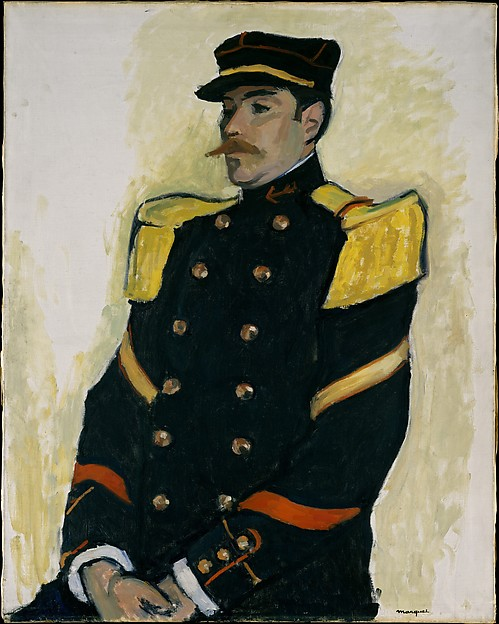 Sergeant of the Colonial Regiment by Albert Marquet