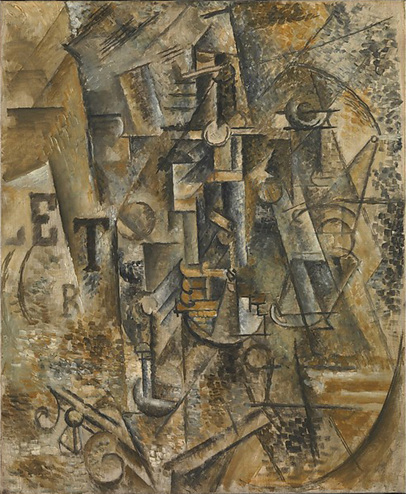 Still Life with a Bottle of Rum by Pablo Picasso