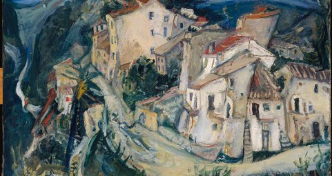 View of Cagnes. by Chaim Soutine