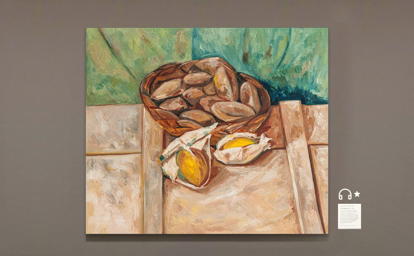 Still Life with Potatoes. 有马铃薯的静物画