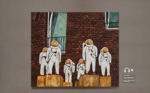 astronauts on earth.