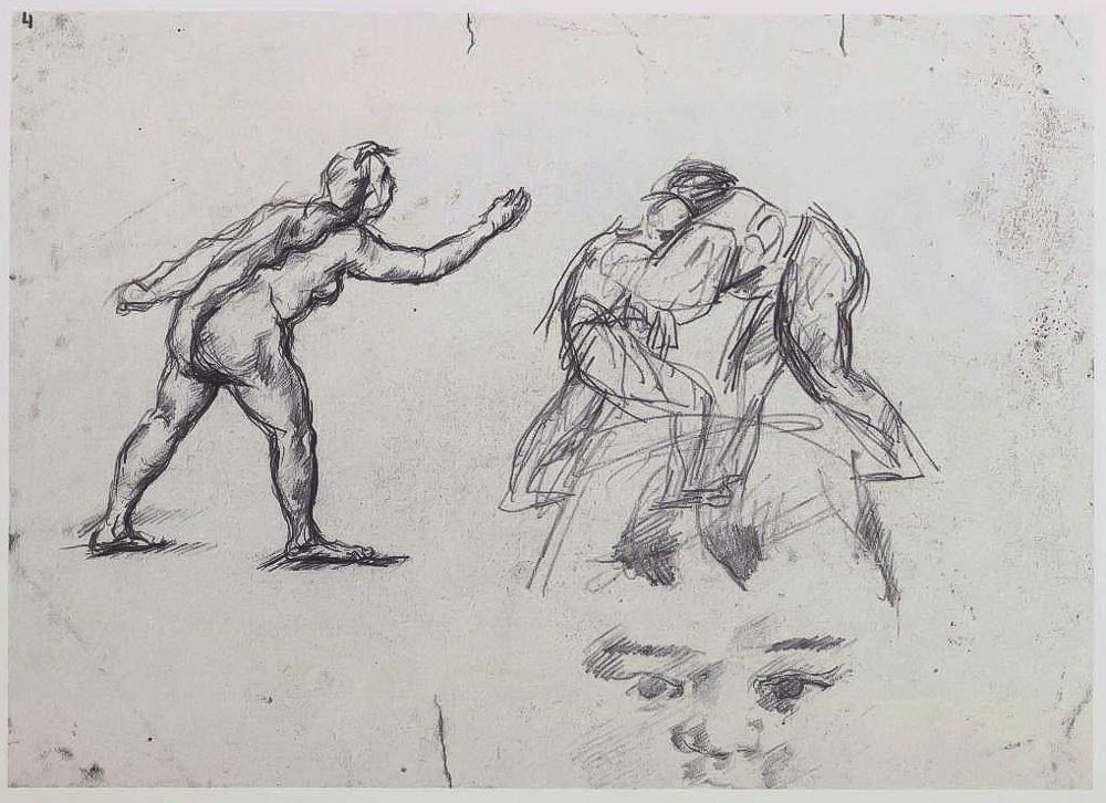 保罗塞尚素描