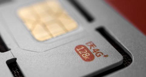 CUCC SIM card. 中国联通SIM卡