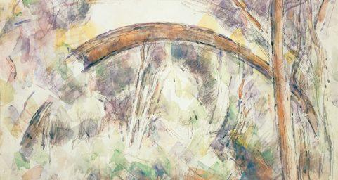 三部斯太特的桥.彩铅水彩