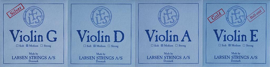 丹麦拉森独奏级小提琴弦说明