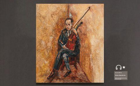 artist of violin.