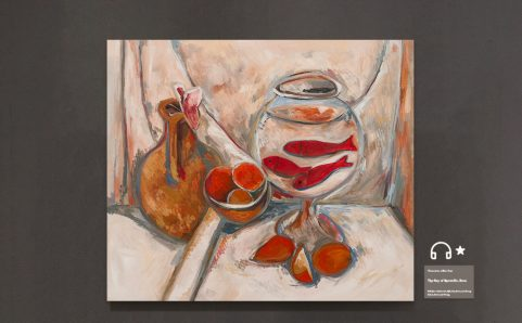 re Still Life with Goldfish Bowl.
