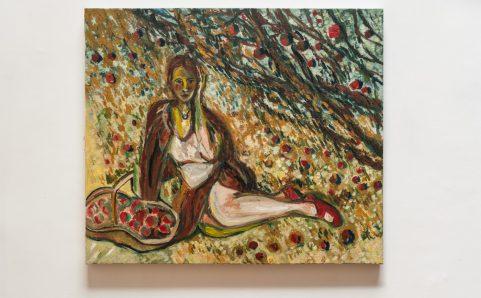果树下的女人.